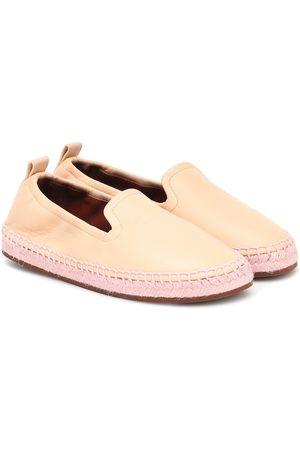 Loro Piana Agata leather espadrilles