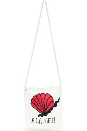 Mini Rodini A La Mer cotton shoulder bag