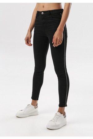 The Other Czarne Spodnie Skinny Saphanea