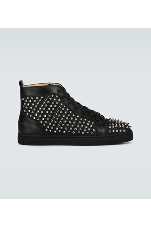 Christian Louboutin Sneakersy - Louis Canvas Lurex sneakers