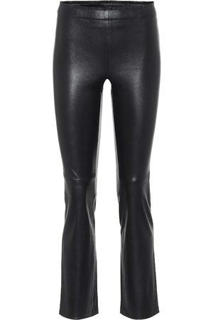 Stouls Kobieta Rurki - JP Twenty slim leather pants