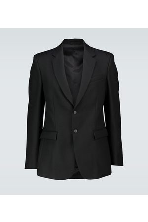 WARDROBE.NYC Single-breasted wool blazer