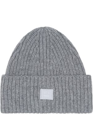 Acne Studios Mini Pansy N Face wool beanie