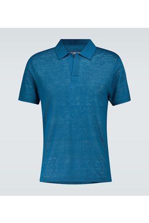 Vilebrequin Pyramid linen polo shirt