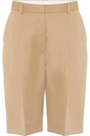 The Row Kobieta Bermudy - Marco wool Bermuda shorts