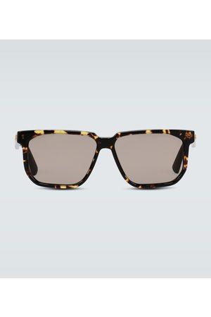 Bottega Veneta Square frame acetate glasses
