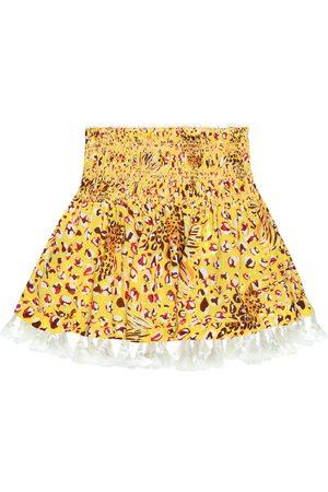 POUPETTE ST BARTH Dziewczynka Spódnice z nadrukiem - Mara printed miniskirt