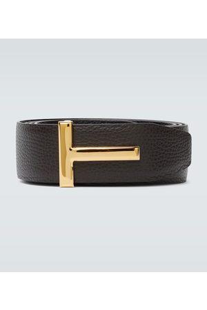 Tom Ford Paski - Reversible T leather belt