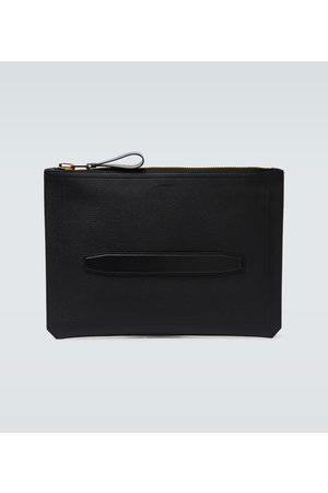 Tom Ford Kobieta Torebki - Grained leather zipped portfolio