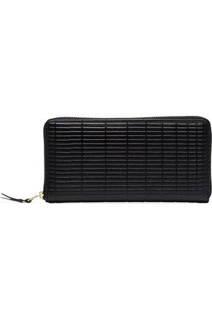 Comme des Garçons Brick large leather wallet