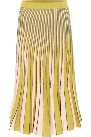 Baum und Pferdgarten Cyrilla metallic knit midi skirt