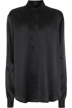 Saint Laurent Silk-satin shirt