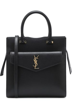 Saint Laurent Uptown Small leather tote