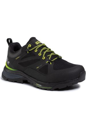 Jack Wolfskin Trekkingi - Force Striker Texapore Low M 4038841 Black/Lime