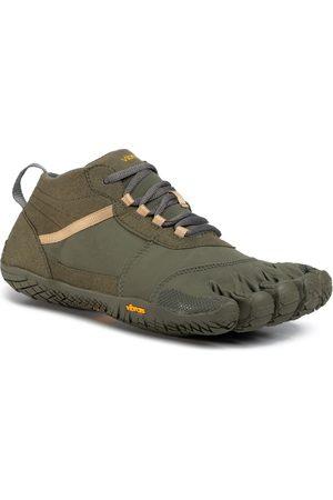 Vibram Mężczyzna Buty trekkingowe - Buty - V-Trek 18M7402 Military/Dark Grey