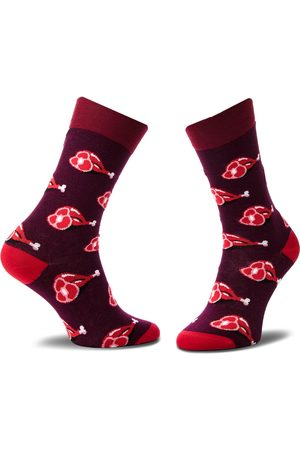 Cup of Sox Skarpety - Skarpety Wysokie Unisex - Flame Grilled Mcdouble Sox Bordowy