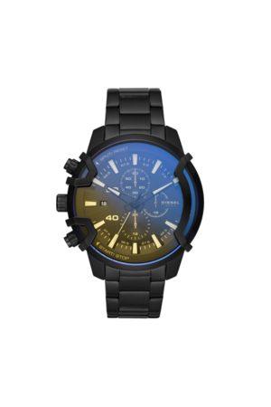 Diesel Mężczyzna Zegarki - Zegarek - Griffed DZ4529 Black/Black