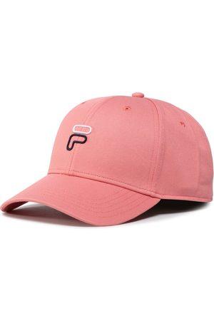 Fila Mężczyzna Czapki z daszkiem - Czapka z daszkiem - 6 Panel Cap F Outline Logo 686025 Shell Pink A430