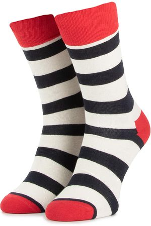 Happy Socks Skarpety Wysokie Unisex - SA01-045 Kolorowy