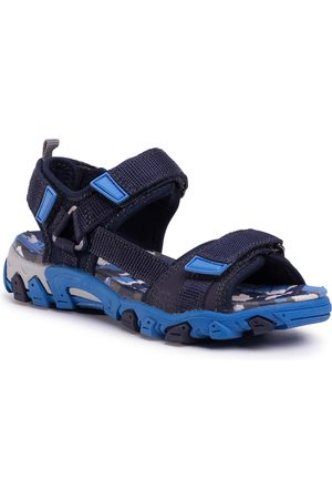 Superfit Chłopiec Sandały - Sandały - 0-600101-8000 S Blau/Blau