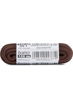 Bama Sprzęty i akcesoria sportowe - Sznurówki do obuwia - OC150 Brown 033