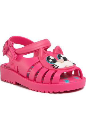 Melissa Sandały - Mini Francxs Cat Bb 32872 Pink/White 52137