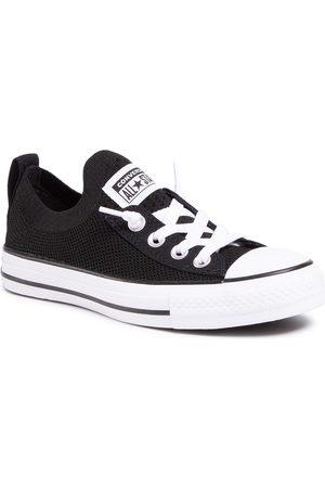 Converse Trampki - Ctas Shoreline Knit Slip 565489C Black/White/Black