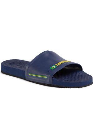 Havaianas Klapki - Klapki - Slide Brasil Fc 41426160555 Navy Blue