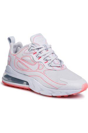 Nike Buty casual - Buty - Air Max 270 React Sp CQ6549 100 White/White/Flash Crimson