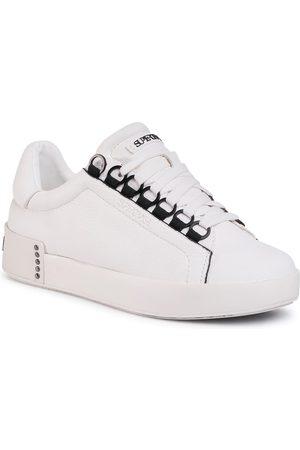 SuperTrash Sneakersy - Lina Ced W 2011 001505 Wht/Blk 1909