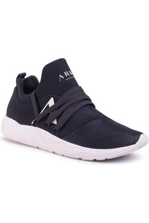 Arkk Copenhagen Mężczyzna Buty casual - Sneakersy - Raven Mesh S-E15 EL1421-5210-M Midnight