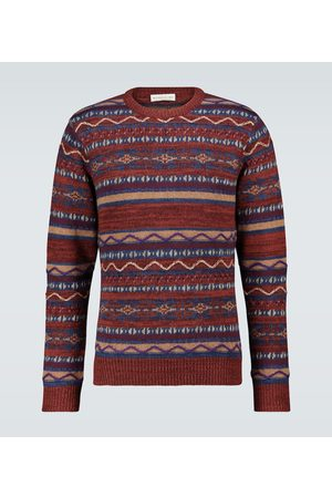 Etro Jacquard patchwork sweater