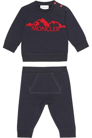 Moncler Baby stretch-cotton tracksuit