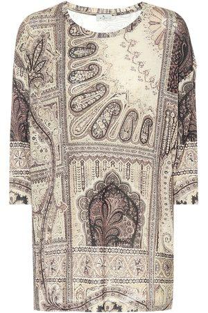Etro Kobieta Topy - Printed jersey top