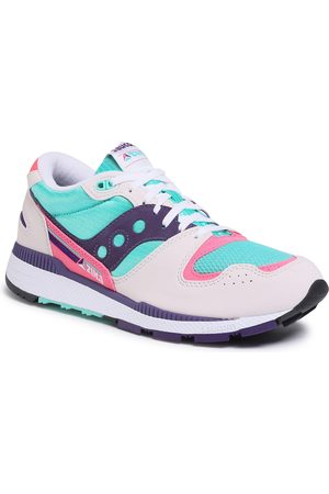 Saucony Sneakersy - Azura S70437-35 Wht/Teal/Ind