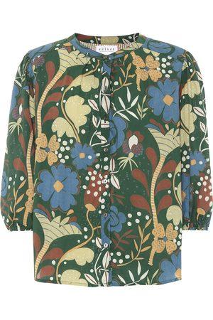 Velvet Affie floral cotton top