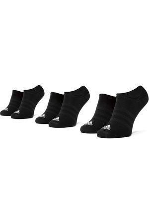 adidas Zestaw 3 par stopek unisex - Light Nosh 3PP DZ9416 Black/Black/Black