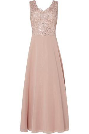 Vera Mont Sukienka wieczorowa z szyfonu i koronki