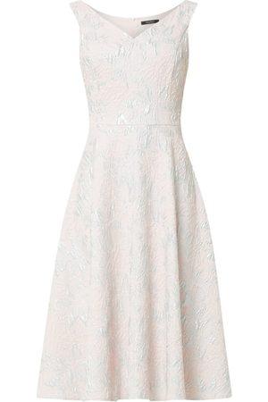 Swing Sukienka koktajlowa z efektowną przędzą
