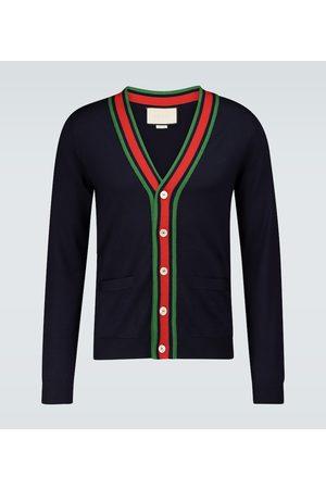 Gucci Kardigany - Knitted wool cardigan