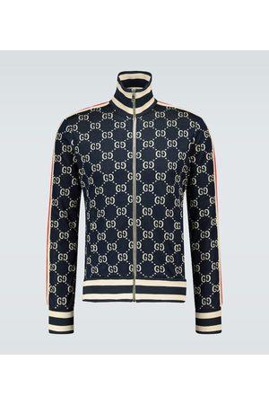 Gucci GG jacquard zipped jacket