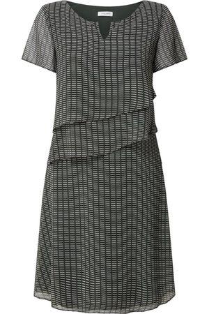 Gerry Weber Sukienka z szyfonu z graficznym wzorem