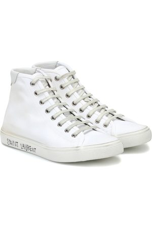 Saint Laurent Malibu canvas sneakers