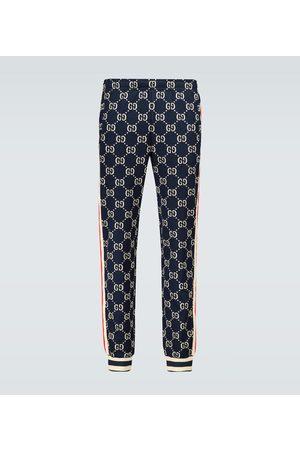 Gucci Spodnie dresowe - GG jacquard sweatpants