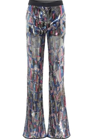 Emilio Pucci Sequined flared pants