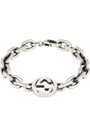 Gucci Mężczyzna Bransoletki - Sterling Interlocking G bracelet