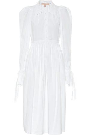 BROCK COLLECTION Romilda stretch-cotton midi dress