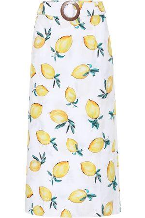 ALEXANDRA MIRO Exclusive to Mytheresa – Isla printed cotton midi skirt