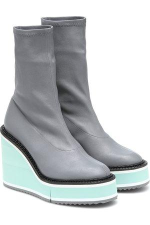 Robert Clergerie Bliss leather platform boots