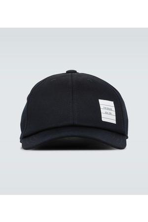 Thom Browne Kapelusze - Cotton twill baseball cap